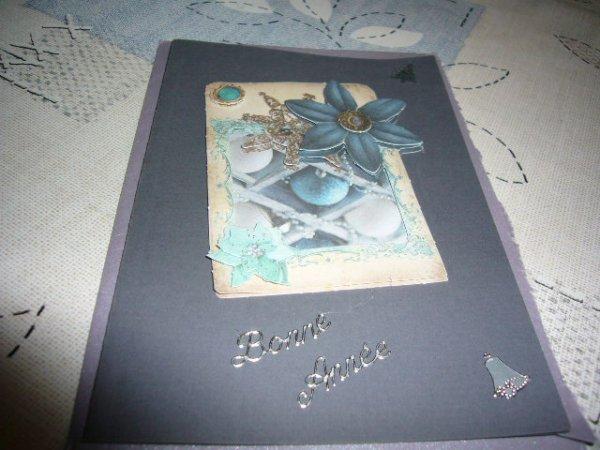 Dans la boîte aux lettres une jolie carte de mon Amie Danièla ....