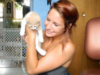moi et la chat
