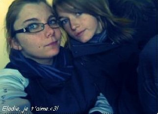 Elodie & Alisson. ♥