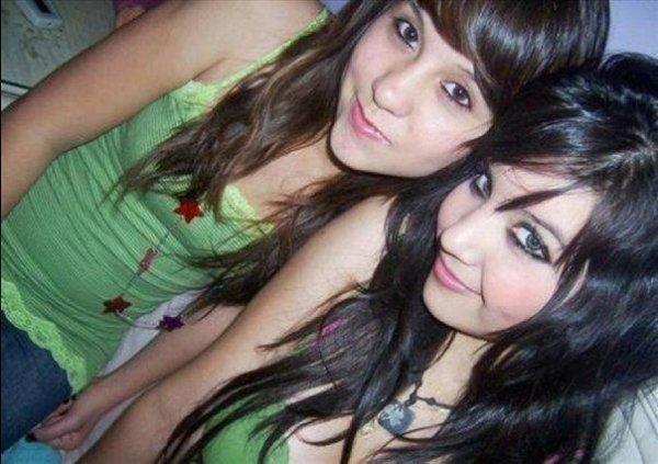 mé and my friend  je t'aime bqp sisou  bisou