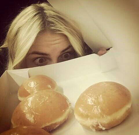 Today it's...the National Donut Day !!♥♡