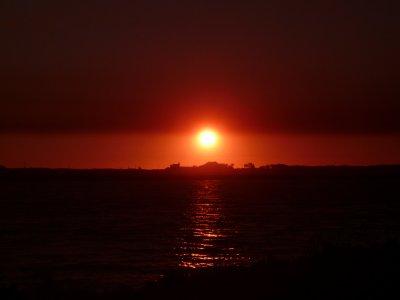 Coucher du soleil - Aout 2010 - Esposende