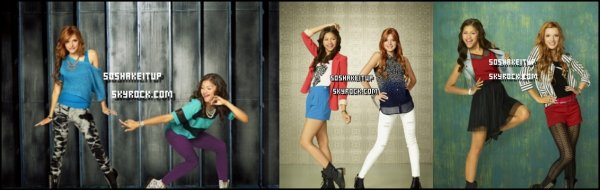 "Photos Twitter  ( Zella ) + Photoshoot de la saison 3 de SIU  + Stills de L'épisode "" Fire It Up de Shake it up Saison 3 , Diffusé , Hier aux U.S.A ."