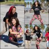 28/10/12 : Zendaya & ses amis ont étaient aperçus s'amusant au skate parc à Venise Beach à Los Angeles.