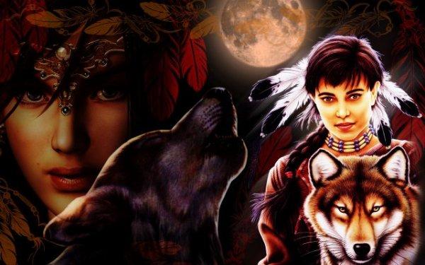 L'antre de la louve...l'amour des loups