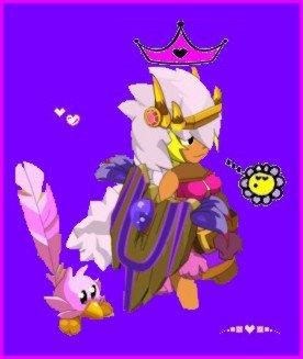 Dofus un jeu que j'aime :) : Mademoiselle Tirmarche Laurie (k) Dofusienne !