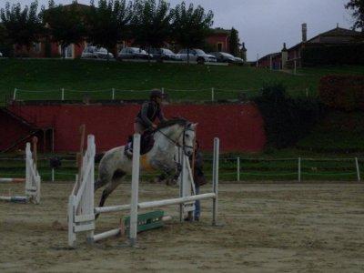 Entrainement CSO à Blanzac  27/11/2011