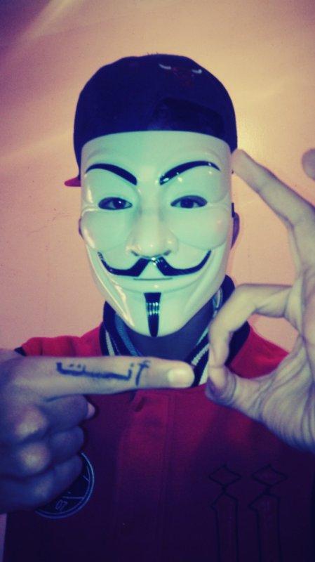 En mode : Anonymous <3