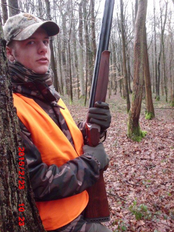 Chasse du 23/02/2015 en Forêt de Mormal avec l'AJC 59