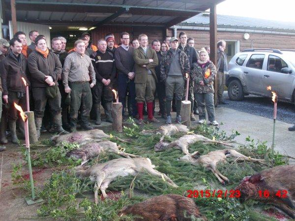 Suite de la chasse du 23/02/2015 Mormal