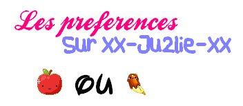 ♥ Les Pяéféяence ♥
