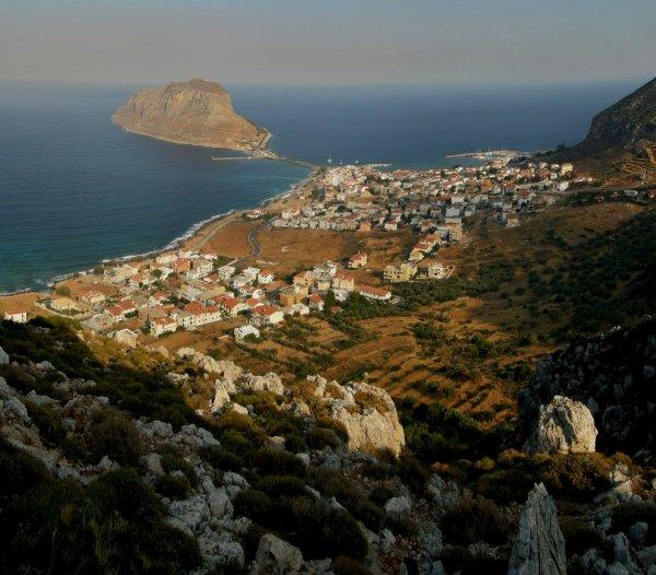 LA ROUTE DU VIN.Grèce.