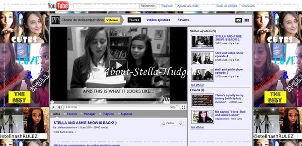 .Cela fait maintenant quelque temps que j'ai remarquer un truc .. Mais où est passé le 'Ashley & Stella' ?! Non parce que, avant on étaient envahis de photos d'elles et puis, plus rien.. Ca me fait vaguement pensé à Natalie & Stella ça .. Après, moi je dis ça, je dis rien ! (a).