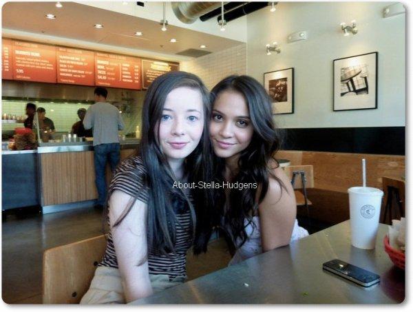 . Stella & Mckenzie au Chipotle