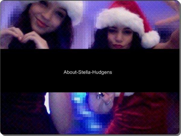 . Stella & Vanessa lors des fêtes de Noël ♥