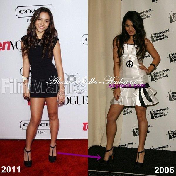 . Stella posant sur le tapis rouge de Teen Vogue hier soir. ♥