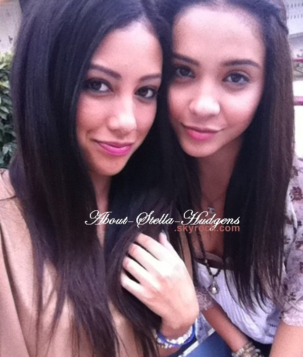 . Stella & Vanessa après leur séance de gym dans Studio City.