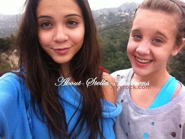 . Stella & Graysan lors de leur randonnée, Stella dans Public, photo de BF posté via twitter & un site américain raconte des éventuelles projets pour S.