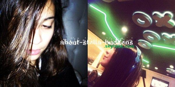 . Nouvelle photo de Stella posant avec une amie/fan (?!) pendant son dernier voyage à Las Vegas avec les Simpson.
