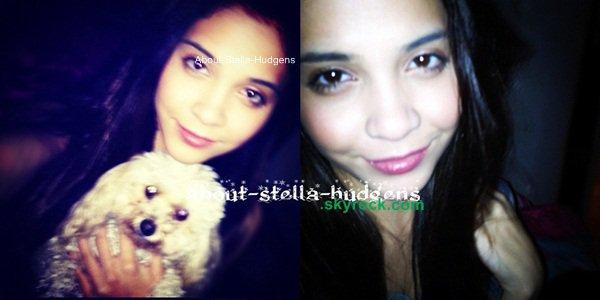 . Bref le 7 décembre, Stella à passer sa journée à faire des photos et du sport.. Et éblouir son pauvre chien avec son flash. Humouuuuuuur.