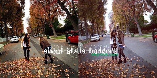 . Il y a trois jours, les deux BF s'amusées dans la rue. Débardeur en décembre, normal.