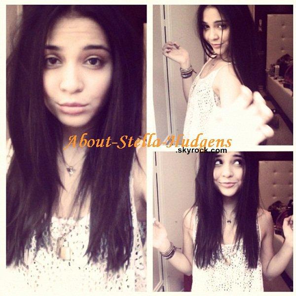 . Stella s'est hier, coupé les cheveux de précisément 5 centimètres et à ensuite posté ce montage sur instagram.