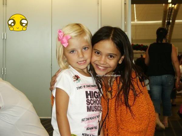. 26 septembre 2006: Stella, sa maman et sa soeur présentes à l'émission 'Good Morning America' J'ai failli pleurer en voyant ce changement énorme..