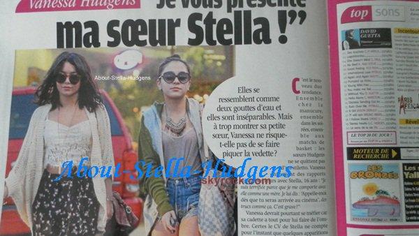 """. """"Je vous présente ma soeur Stella!"""" Page """"Public"""" consacrée à Stella. ♥"""