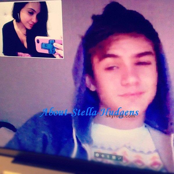 . Skype avec Cole. C'était son anniversaire hier. *on s'en fout*