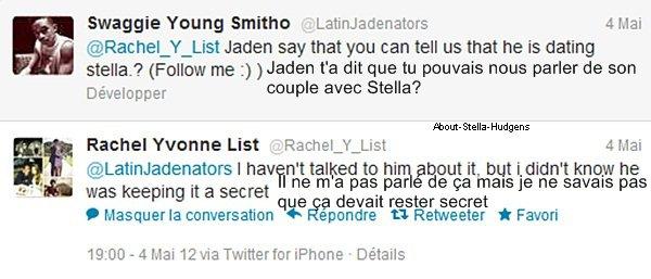 . Stella, fière d'elle, à posté ces deux photos sur son instagram montrant le trend français où elle apparaît.