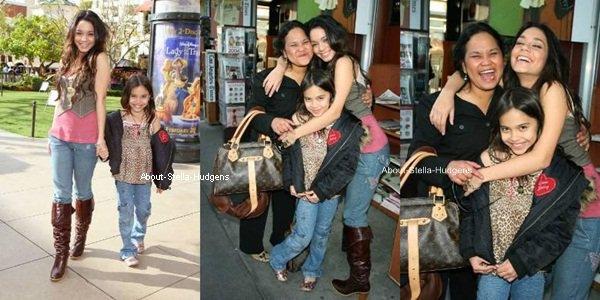 . Année 2006: Photoshoot de Stella, Vanessa et Gina par Clark Samuel au The Grove.