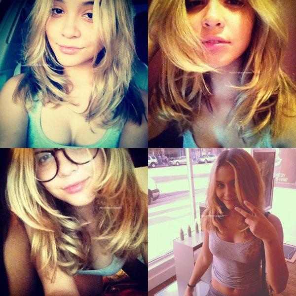 . Stella s'est coupé les cheveux hier. ♥