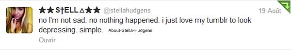 . Stella, Willow & Telana se sont prises pour des mannequins et nous ont sorti un mini shoot via le tumblr de Stella... Les photos ne doivent pas être récentes vu la coupe de Stella...