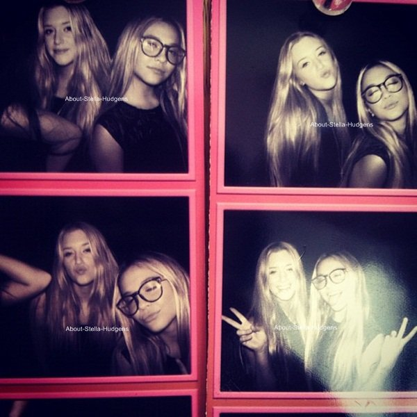 . Le 5 octobre, Stella à été faire les magasins avec Brogan & Hailey Baldwin.