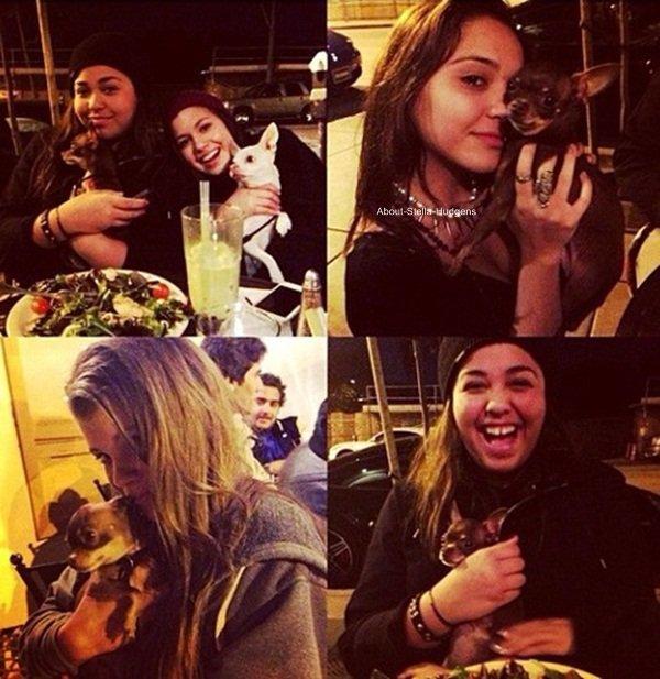 """. Hier soir, Sammi à posté une vidéo de Stella & d'elle-même datant de leur séjour à NYC pour la Fashion Week Show. Nous avons bien entendu le droit à l'épisode """"Je perds mon sac & ne le reconnais pas"""" en vidéo de Stella à l'aéroport."""