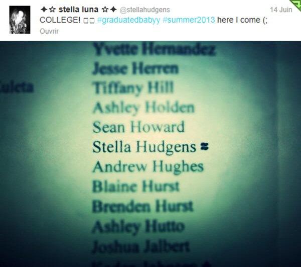 . Stella en double date humour hein avec Shamari, Harmony Carter & Jackson Guthy ou encore parti manger entre amis il y a deux semaines.