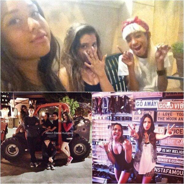 . Le 5 juillet, Stella était avec Jacque & Shamari, aussi allumés que leur pote, avec une voiture de police. Allez comprendre !