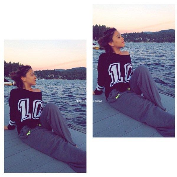. Vacances entres amies avec Stella et Jordyn qui sont parties à Lake Arrowhead.