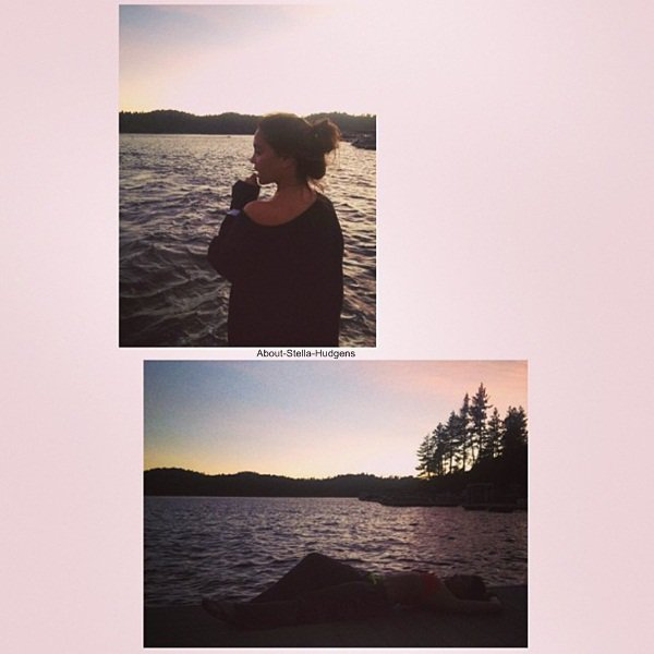. Nouvelles photos des vacances de Stella & Jordyn à Lake Arrowhead.