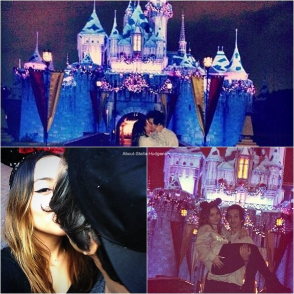 . Le 4 décembre dernier, Stella est (encore) allée à Disneyland avec ses amis !
