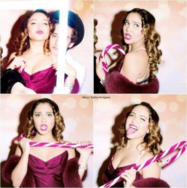 . Découvrez le photobooth de Stella et ses amis lors du 25ème anniversaire de sa soeur Vanessa, le 14 décembre dernier. ♥