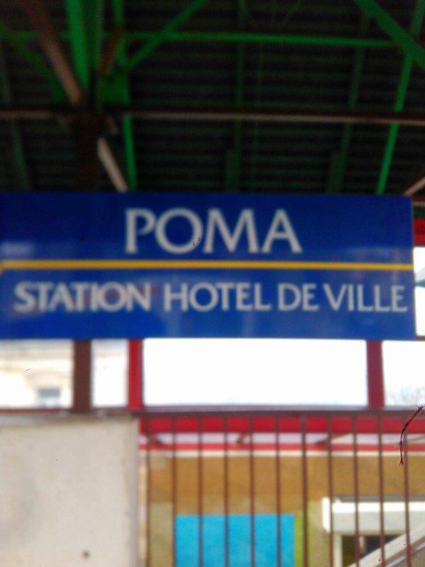 La station du poma a hotel de ville