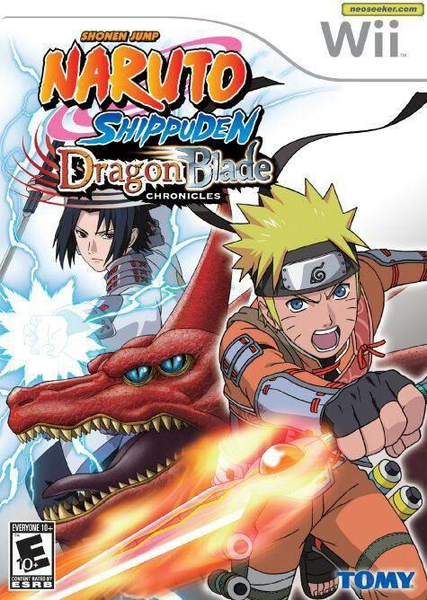 Naruto Shippuden Dragon Blade Chroniques