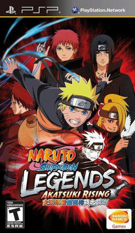 Naruto Shippuden Légende Akatsuki Rising