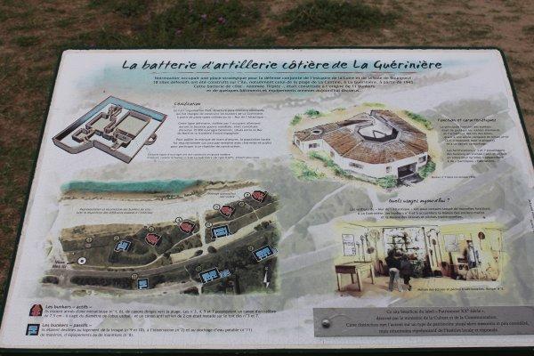 visite du blockaus de la Guérinière