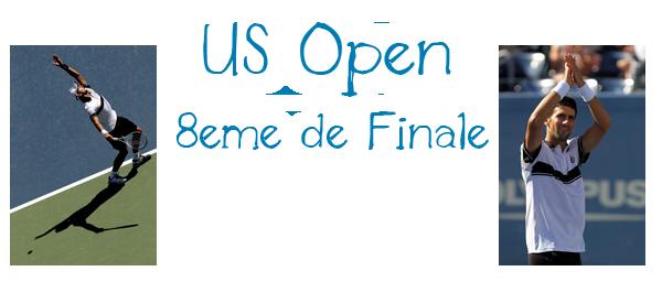 61. US OPEN - 8è de finale