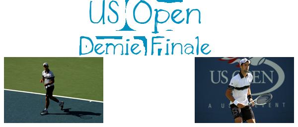 63. US OPEN - Demie Finale