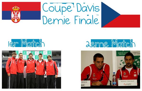 66. COUPE DAVIS - Demie Finale 1er & 2ème Match