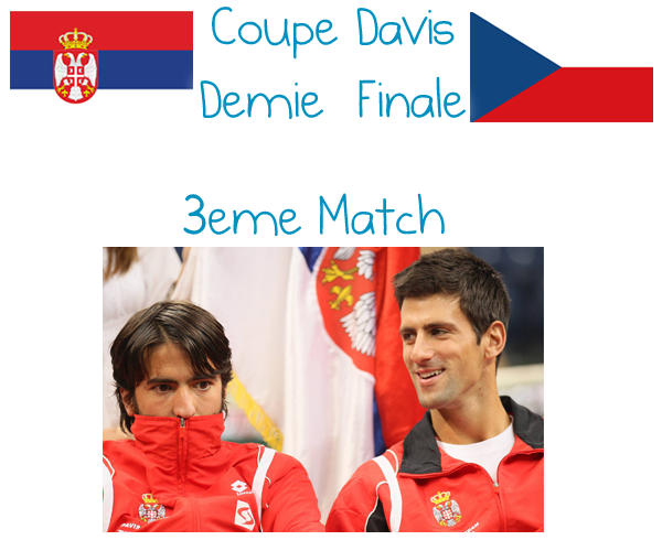 67. COUPE DAVIS - Demie Finale, 3ème Match, DOUBLE