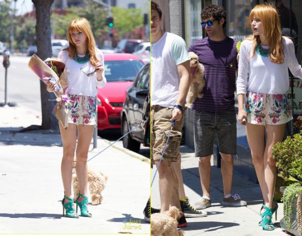 12/05/13. Bella faisant un shooting pour Billboard Music Awards
